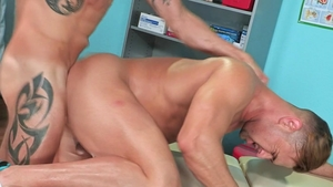 Hot House - Huge cock Josh Conners ass to mouth