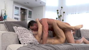 Falcon Studios: Sweet Cade Maddox steamy jizzed in club