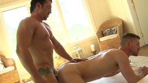Falcon Studios: Troy Daniels with super hot Jimmy Durano