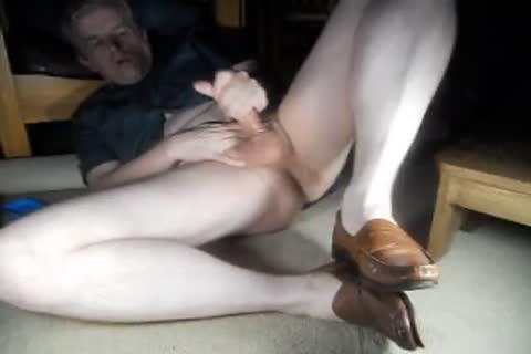 daddy jerking in loafers